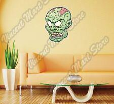 "Zombie Head Monster Dead Gift Wall Sticker Room Interior Decor 19""X25"""