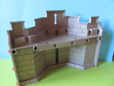 PLaymobil*Mauer groß Wand Teil Wandteil + Wehrgang grau  3268 Königsritterburg