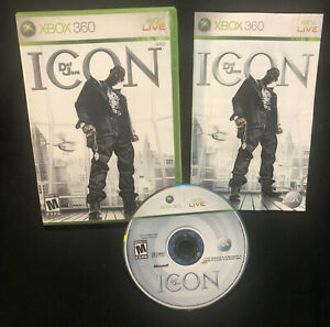 Def Jam: Icon (Microsoft Xbox 360, 2007) Tested And Complete Rare Game
