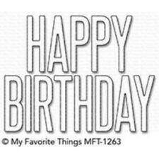 MFT/mis cosas favoritas-Gran Cumpleaños-Die-Namics