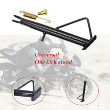 Black Motorcycle Kickstand Side Stand Leg Prop Firm Seamless welding
