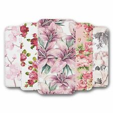For iPhone XR Flip Case Cover Flower Collection 4