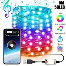 Christmas Tree Decoration Smart LED Lights Smart Bluetooth Personalized String
