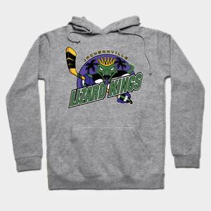 Jacksonville Lizard Kings Lizardkings ECHL hockey hooded sweatshirt hoodie