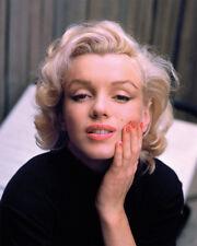 La vida del tiempo-Marilyn Monroe-color-Lienzo Enmarcado Listo 40x50cm