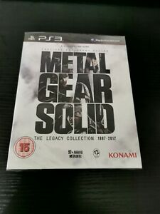 PS3 Metal Gear Solid The Legacy Collection, UK Pal, New & Factory Sealed