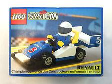 Vintage LEGO Town 1750 Renault Formula 1 Racer (1992) MISB New Sealed Box Rare