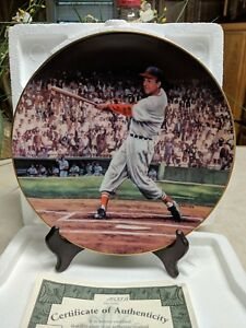 """The Bradford Exchange """"Great Moments in Baseball"""" - Stan Musial - The Five Homer"""