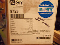 A.O. SMITH Electric Motor 9723 Multi Fit Mounting System 1/4 HP