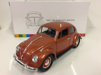VW Beetle 1967 Copper 1:32 Scale Lucky Diecast 24202C