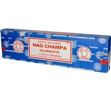 Satya Sai Baba NAG CHAMPA Agarbatti Incense Sticks Fresh From India 100g