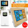 Wireless Digital LCD Indoor & Outdoor Weather Station Clock Calendar Thermometer