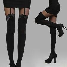 Boot Socks Bow Velvet Pantyhose Stockings Over Knee Thigh High