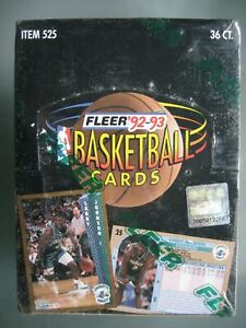 1992-93 Fleer Basketball Box Sealed **Shaquille O'Neal Rookie Year** 36 Packs