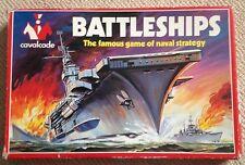Vintage Rare Cavalcade Battleships Game Strategy Game 1960s