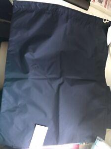 Drawstring bag 50X40cm Dark Blue Waterproof Nylon