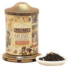 Basilur Tea Music Tin Caddy Christmas - Pineapple & Ginger Black Leaf Tea  100g