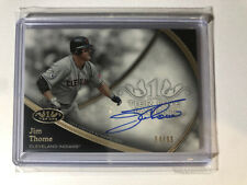 2020 Topps Tier One Talent Jim Thome Auto /65