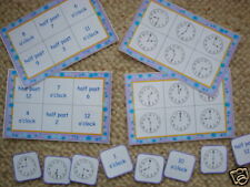 Teaching Resources - Numeracy - Time Bingo
