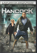 Hancock (DVD, 2008, 2-Disc Set, Canadian; Unrated; Special Edition; Widescreen)
