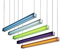 """10"""" X 48"""" Fluorescent Tube Strip Lighting 4FT Filter Gel Colour Cut to Any Size"""