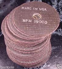"20pc 4"" CUT OFF WHEELS Made USA 1/16 x 5/8 Arbor tool blade grinder sander wheel"