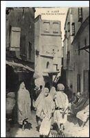 AFRIKA Africa ALGER Algier Rue Casbah Personen ~1910/20