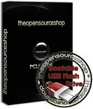 PCLinuxOS 2017.05 Linux 128GB USB 3.0 Bootable Startup Flash Pen Drive