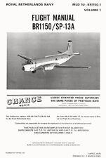 BREGUET 1150 ATLANTIC - FLIGHT MANUAL VOL.1 / MLD 1976