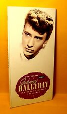 CD BOX Johnny Hallyday l'integrale Coffret Longbox 2 CD + Livret 1992 Chanson
