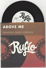 """Rufio """"Above Me (Demo)"""" 7"""" Blink 182 AFI MxPx Jimmy Eat World NoFx"""