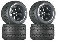 NEW DuraTrax E-Revo Summit T-Maxx Mounted Bandito MT Tire / Wheel DTXC3576