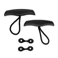 2pcs Kayak Canoe Boat Toggle Carry Handles Replacement with Deck Loops