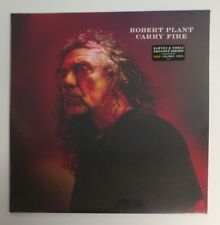 "Robert Plant ""Carry Fire"" 2 LP Barnes & Noble Exclusive Gold Vinyl Sealed!"