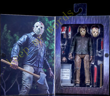 "NECA Friday The 13th Part 4 Ultimate Jason Vorhees 7"" PVC Action Figure Toy Doll"