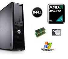 Dell Optiplex AMD Athlon 64  160GB HDD 4GB RAM Windows XP Desktop PC Computer