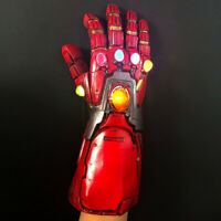 Iron Man Nano Gauntlet Led Gloves Thanos Infinity Gauntlet Avengers Endgame Toys