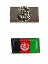 Afghanistan Flag Tie Pin with free organza pouch