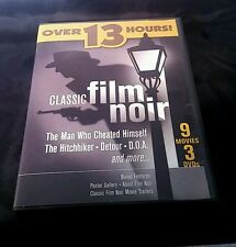 Classic Film Noir (DVD, 9 Movies, 3-Disc Set)