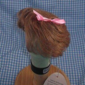 VINTAGE Playhouse RACHEL short partial cap DOLL WIG llb  blonde 8-9 in package
