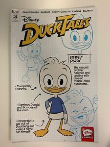 IDW DUCKTALES #3 RI COVER : NM CONDITION
