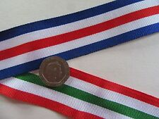 Italy Star  + The  France & Germany Star,  medal ribbon x 1 metre.