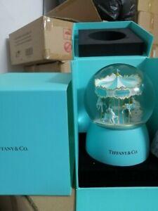 Tiffany & Co Brand New Carousel Snow Globe Novelty Unique Gift VIP BNIB