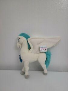 "RARE Disney Store Hercules Pegasus Plush 15"" Winged Horse"