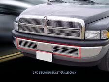 Bumper Billet Grille Grill Bumper For Dodge Ram Pickup Truck 1994-2001
