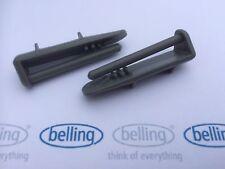 Belling - 2x Dishwasher Cutlery Basket Rail Rear End Cap (pair)