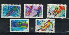 CANADA SCOTT 1399-1403 USED WINTER OLYMPICS