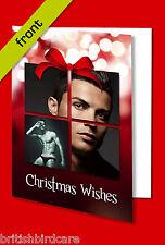 CRISTIANO RONALDO Autograph Signed Christmas Card Print INC ENVELOPE A5 Size