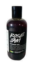RARE HTF Lush Rose Jam Shower Bath Gel Soap Made By Reya 8.4 fl oz 250 ml