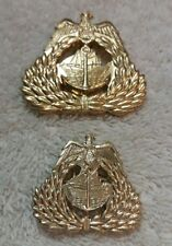 Kuwait Navy Hat Badge Set Desert Storm